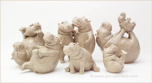 What? MORE Hippos?