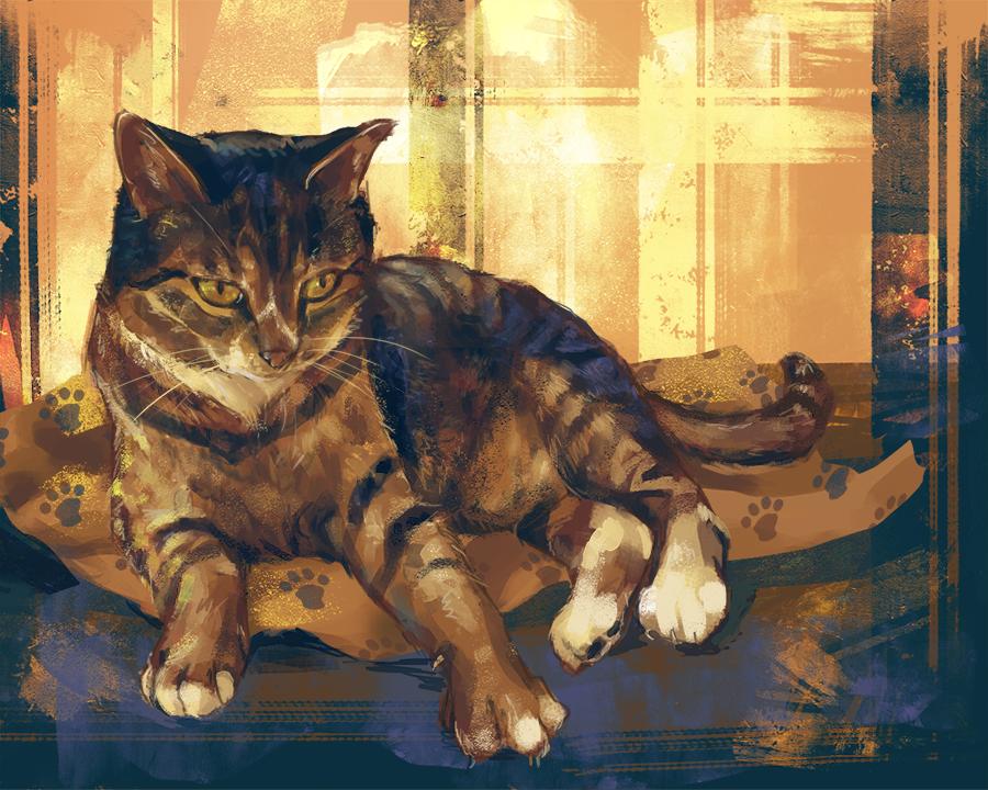 kitty! by le-shae