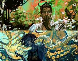 tieflings and tentac--
