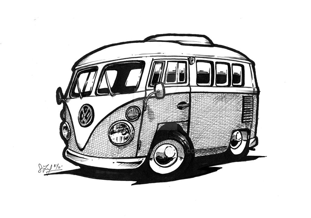 Vw Bus By Toby182 On Deviantart