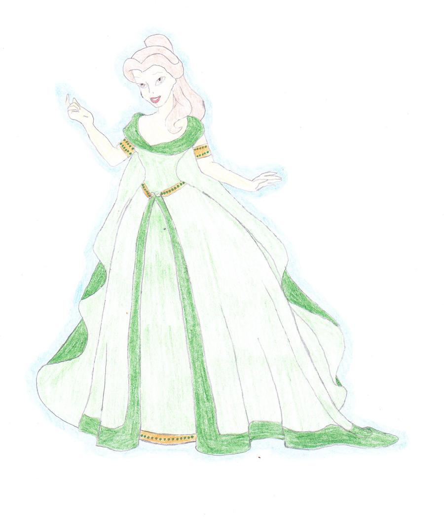 Disney Belle Twin Bedding