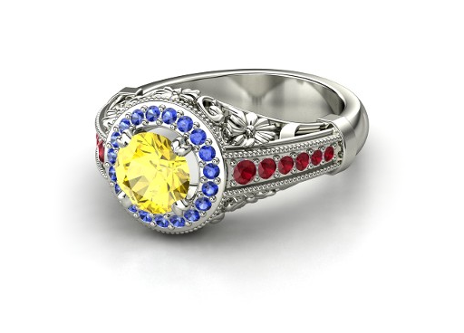 Snow white inspired engagement ring by laserenity on for Snow white wedding ring
