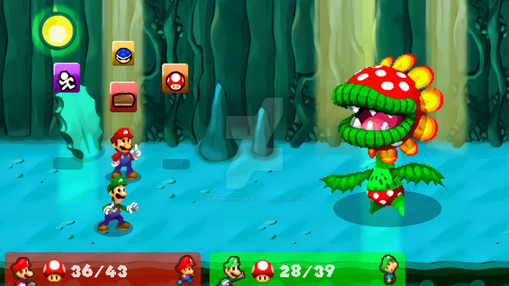 Mario And Luigi Partners In Time Hd Battle V 3 By