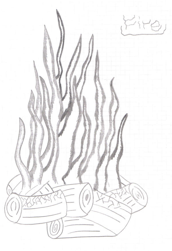 fire drawings design - photo #22
