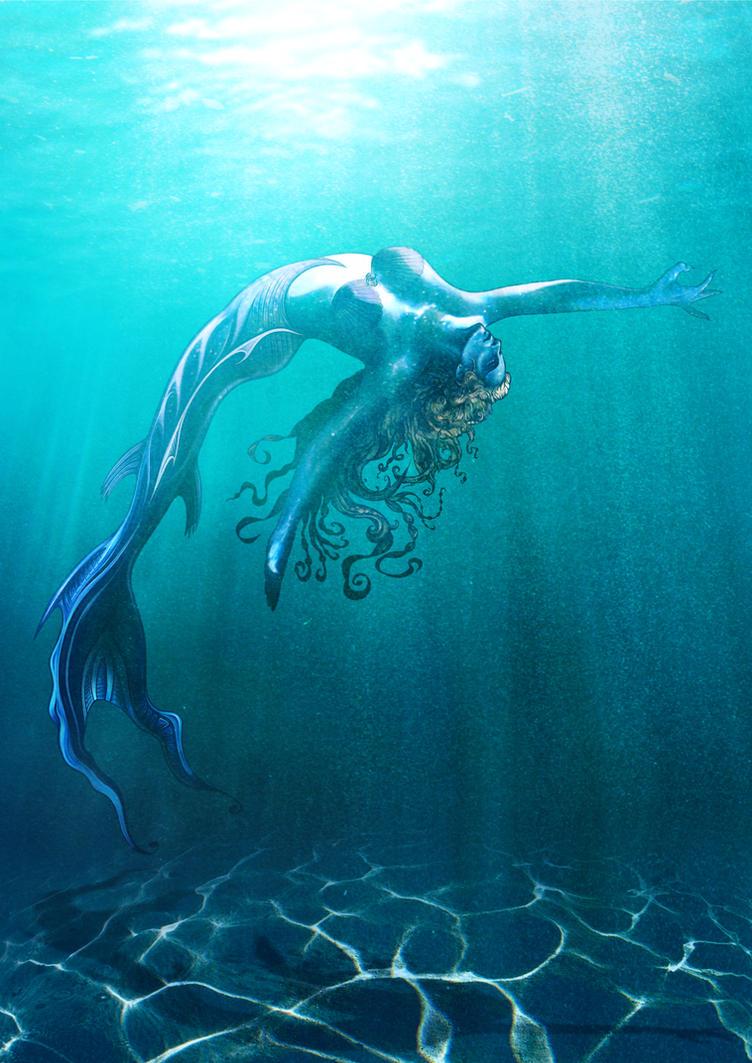Mermaid Underwater by joncambeul on DeviantArt
