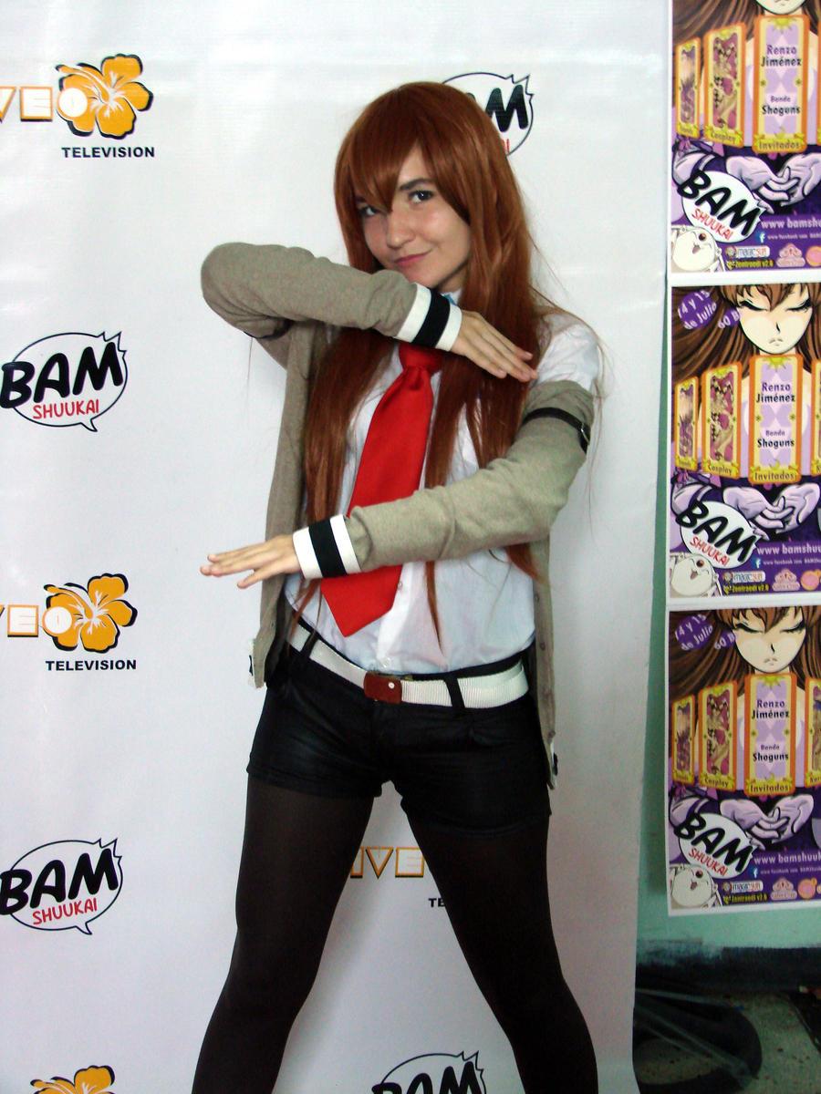 Kurisu Makise from Steins Gate cosplay by Miss-Bathory on ...