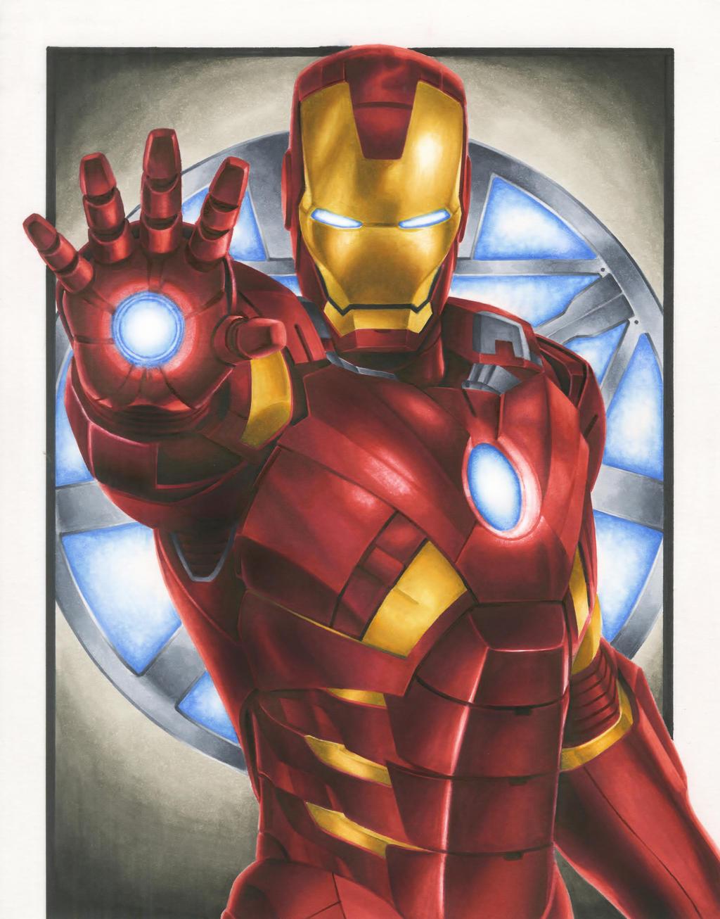 Iron man animated avengers - Iron man cartoon wallpaper ...