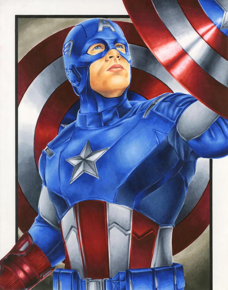 Avengers: Captain America by smlshin