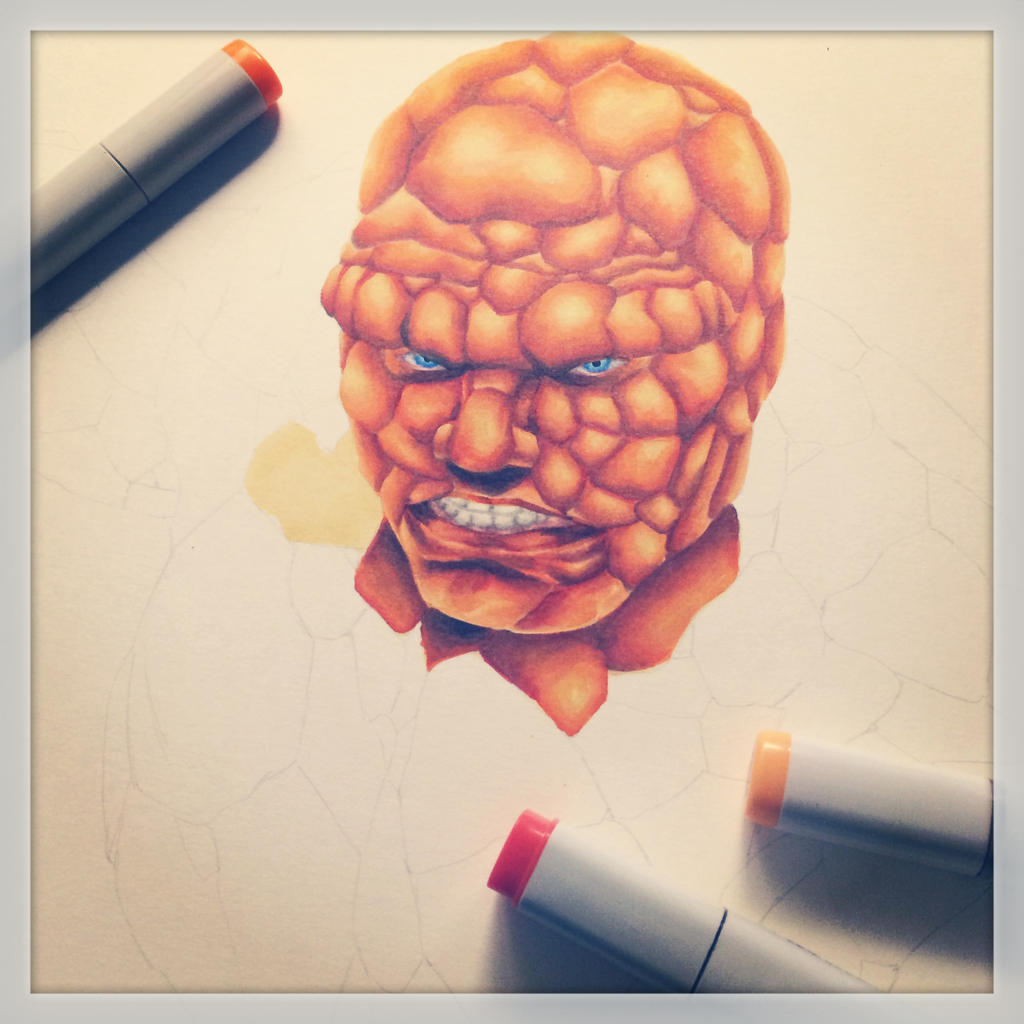 The Thing WIP by smlshin