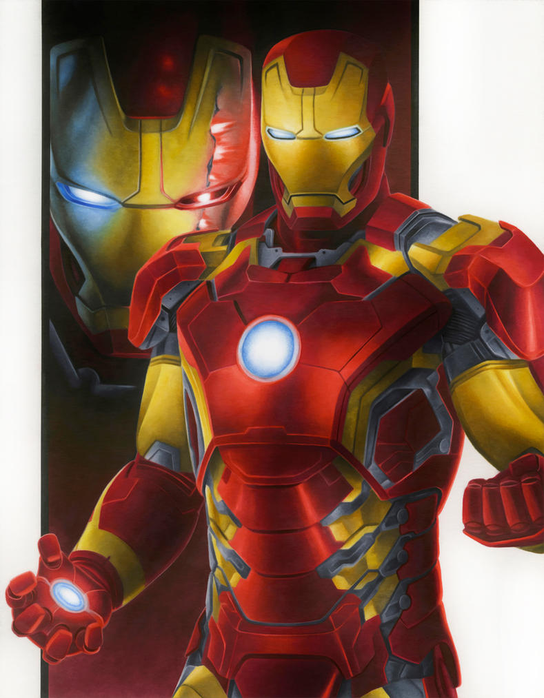 Avengers Age Of Ultron By Iloegbunam On Deviantart: Age Of Ultron: Iron Man By Smlshin On DeviantArt