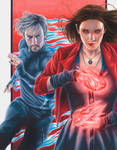 Age of Ultron: Scarlet Witch and Quicksilver