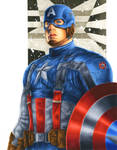 Captain America by smlshin