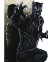Civil War: Black Panther by smlshin