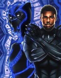 Black Panther by smlshin