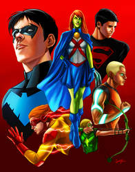 Young Justice by smlshin