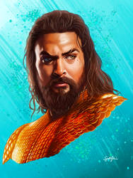 DCEU: Aquaman Portrait