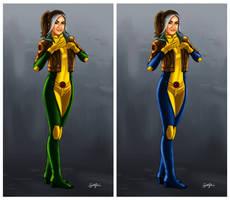 X-Men: Rogue Comparison