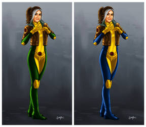 X-Men: Rogue Comparison