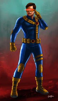 X-Men: Cyclops Concept Art