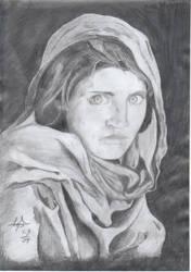 Afghan Girl by darsh30