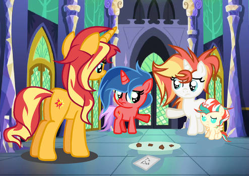 Mlp (Next Gen) Who ate all the cookies.