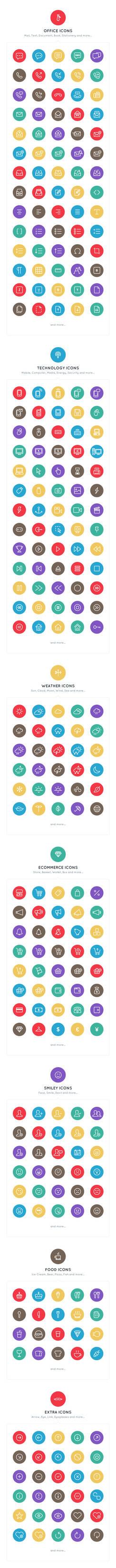 740+ Line Icons