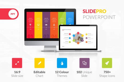 SlidePro Powerpoint Presentation Template