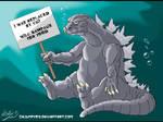 Godzilla - Out of a job