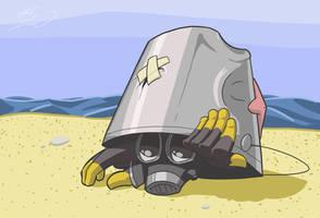 Pyro in a Bucket by CajunPyro