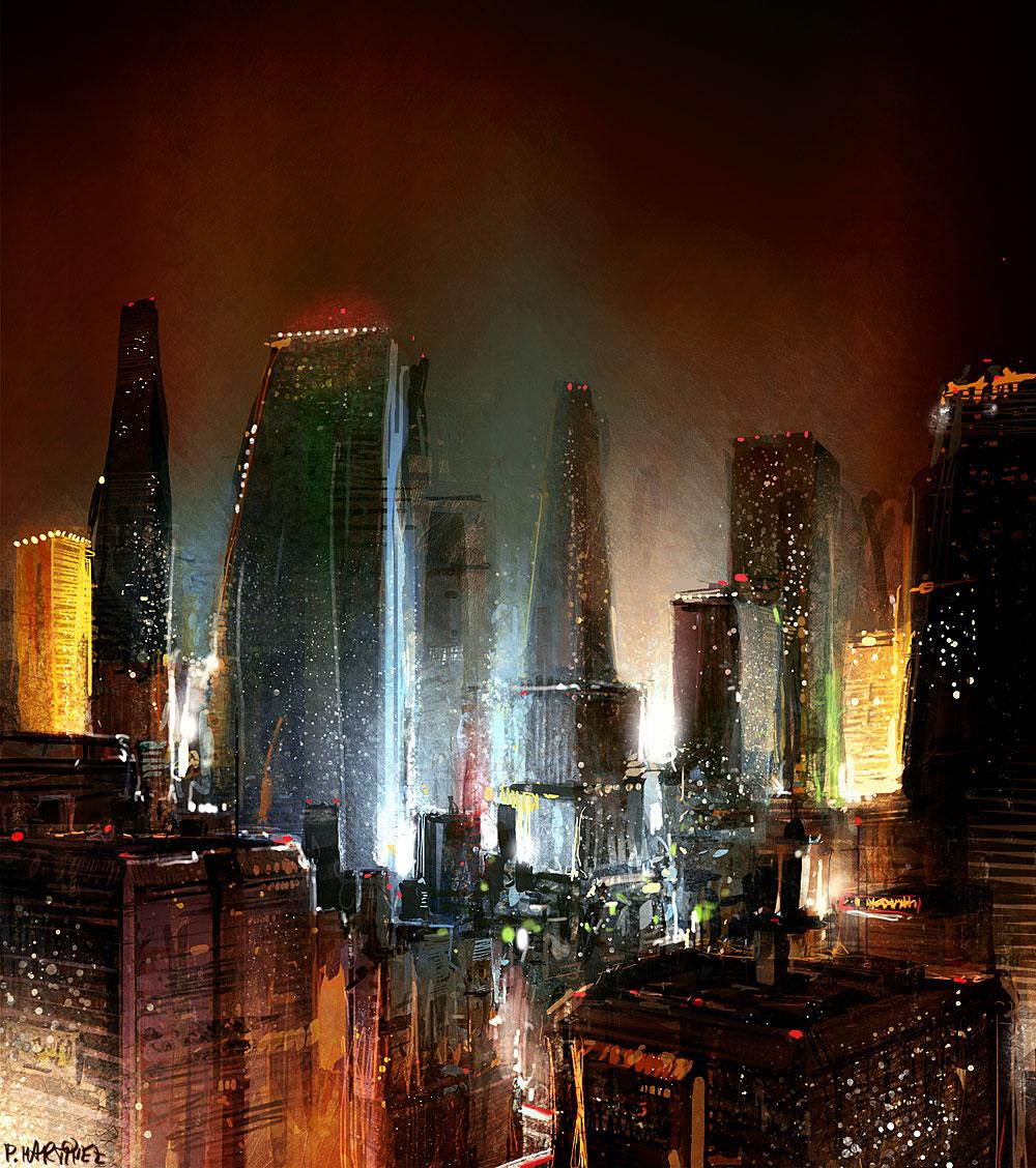 CityScape 2 by Pierrick