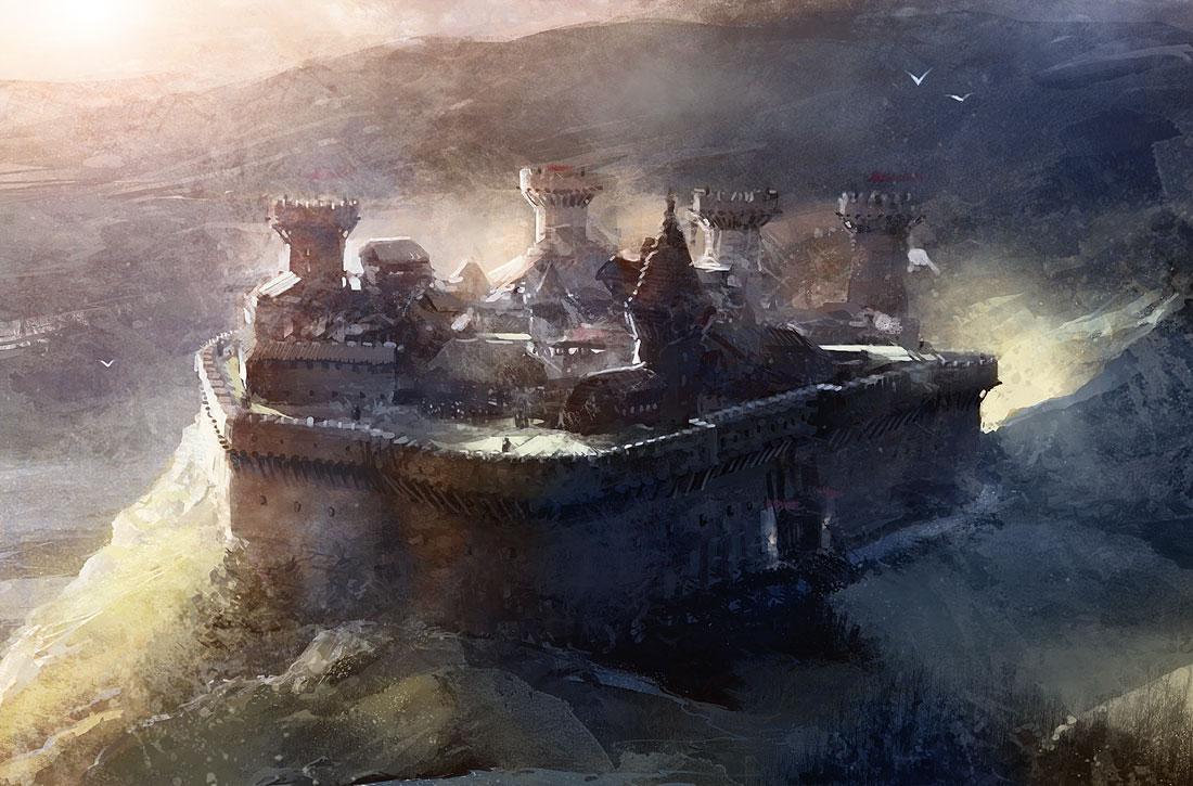 Castle by Pierrick