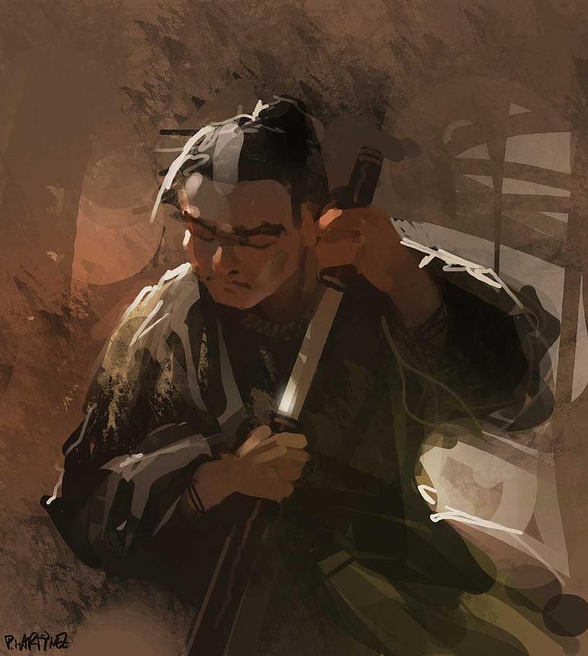 Zatoichi by Pierrick