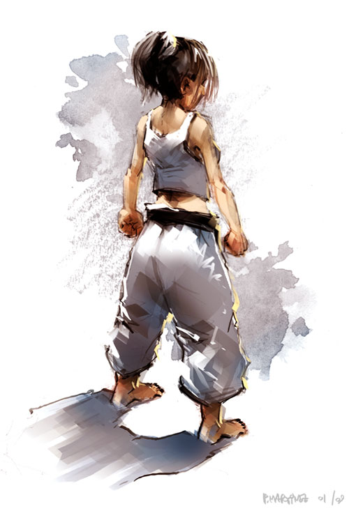 Karate Girl By Pierrick On Deviantart