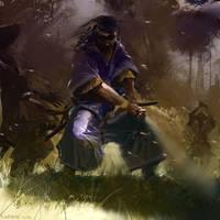 Samurai 004_finished version by Pierrick