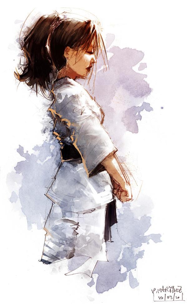 Karate Girl 003
