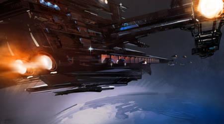 Spaceship by Pierrick