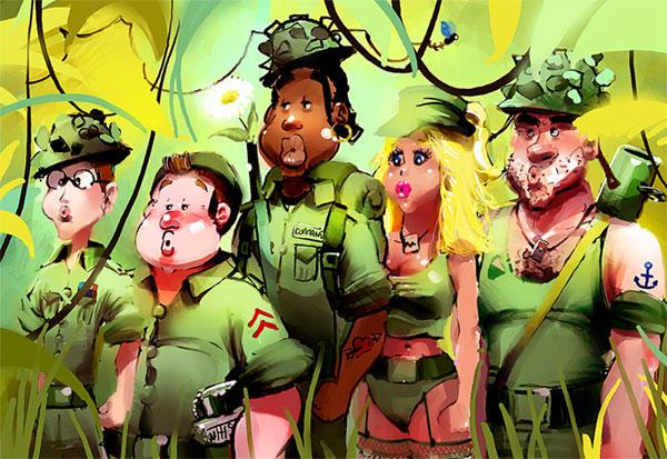 Army by Pierrick