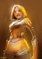 Golden Girl by Pierrick