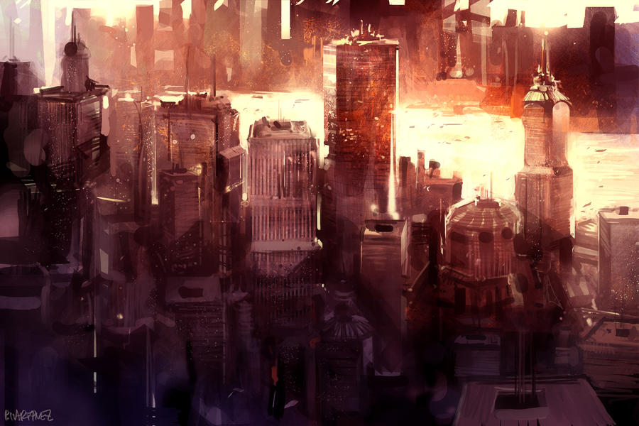 City   -rough- by Pierrick