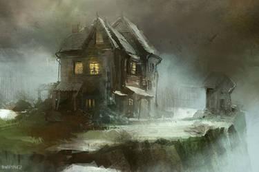 Maison hantee by Pierrick