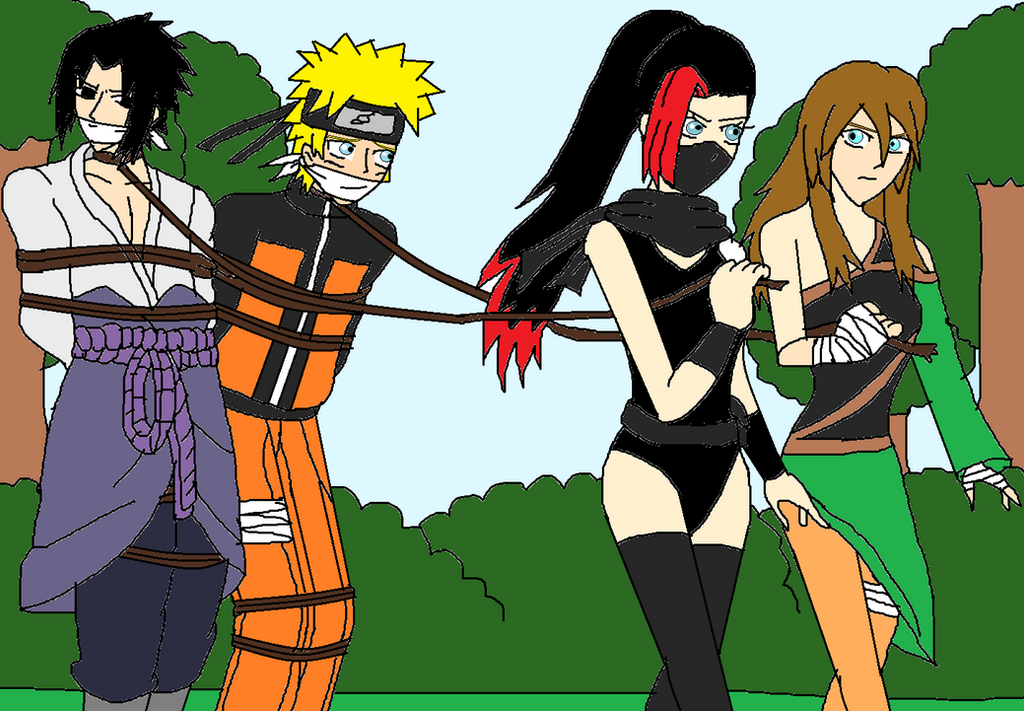Ninjas tie up game by ernetgid on deviantart