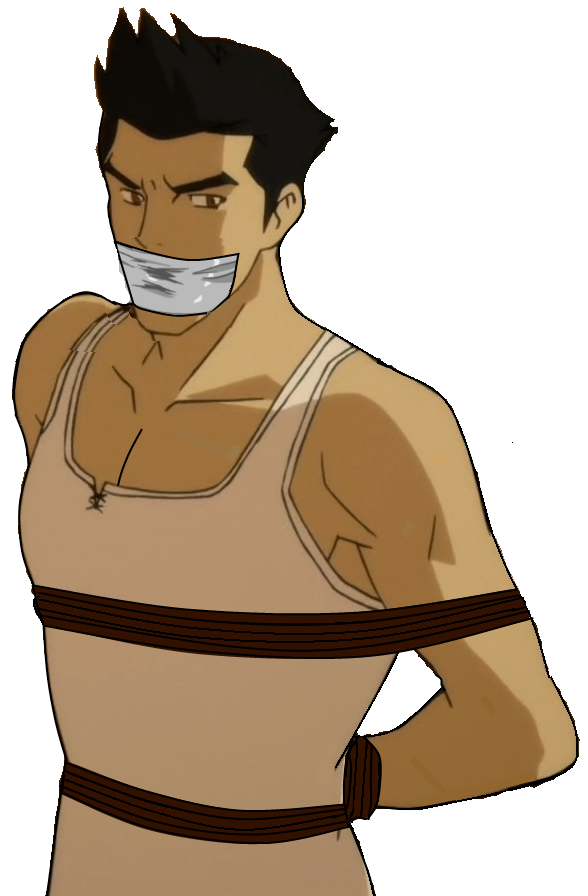 DeviantArt: More Like Mako and Bolin tied up and gagged by ernet888