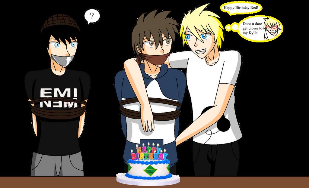 Happy Birthday RedFalcon23 by ErnetGID