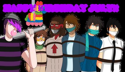 Happy Birthday July!! by Ming-GID
