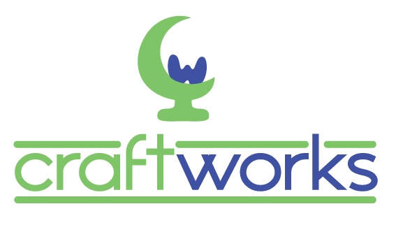 Logo design - Craft Works by dubird