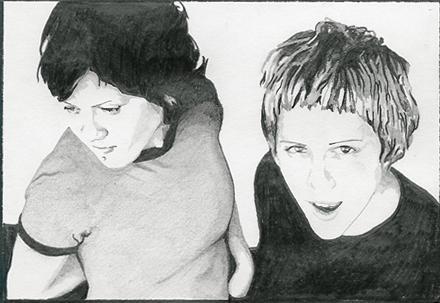 Tegan and Sara by kriss41