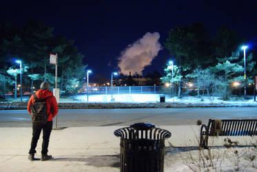 A cold night by MrProsser42