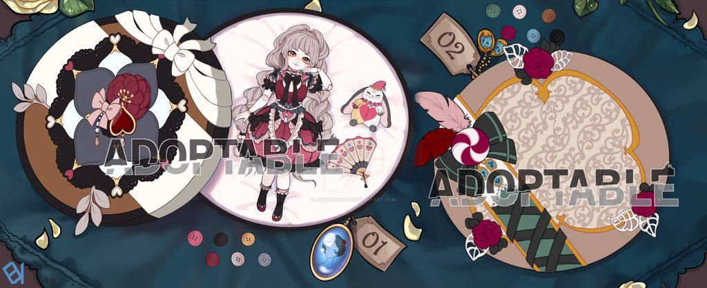 [Mystery Adopts] Porcelain Dolls [Auction]