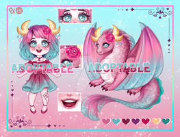[OPEN] Dragon Girl [Auction]
