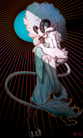 [Commission] Goat love [Akie]